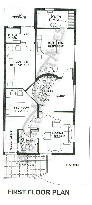 bahria enclave 10 marla 4 bed house design bds 329